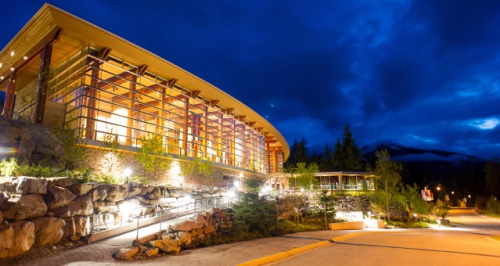 Scandinave Spa, a romantic place for couples in Whistler, British Columbia