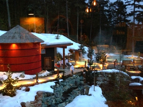 Romantic getaway in whistler british columbia for Spa weekend getaways for couples