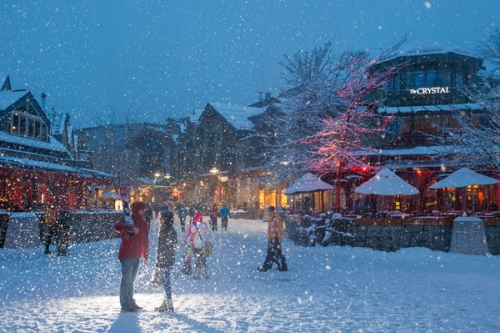 Romantic Getaway in Whistler, British Columbia (Photo by Mike Crane, Tourism Whistler)