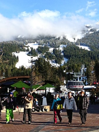 Skiing and Beyond with Kids in Whistler, British Columbia - Whistler Village