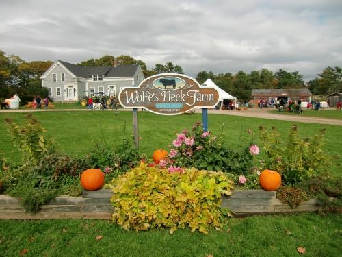 Wolfe's Neck Farm in Freeport, Maine