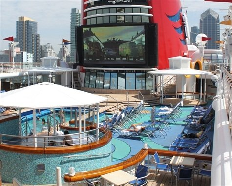 Disney Wonder family pool