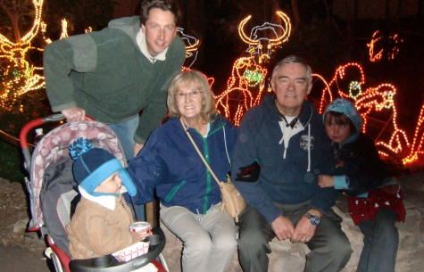 Thanksgiving at Phoenix Zoolights