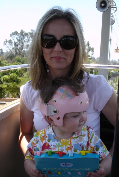 That's me with my daughter, Karissa, aboard the SkyFari Aerial Tram in 2006