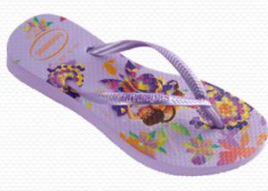 Kids Slim Tinkerbell sandal in Lavender