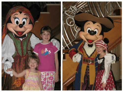 Pirates in the Caribbean Night – 2006 and 2013