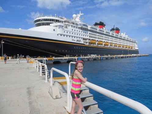 Disney Magic docked in Cozumel