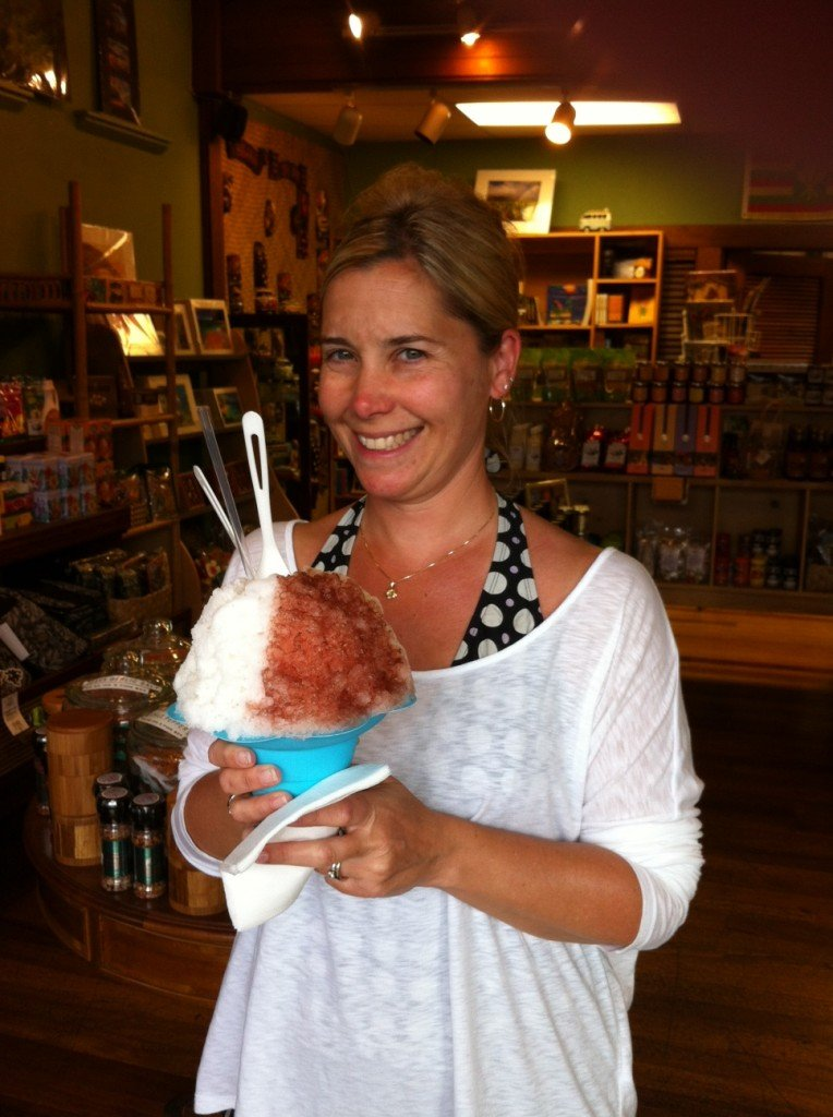 Yummy shave ice!