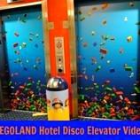 Legoland Hotel disco elevator video
