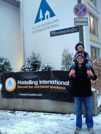 Our hostel in Munich