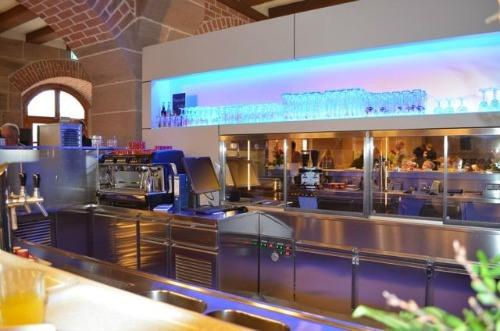 Nuremberg hostel bar area
