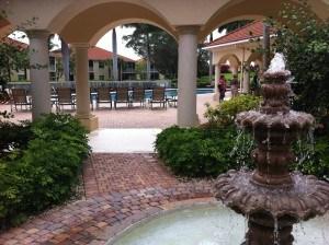 Fountain at Westin Cape Coral Resort at Marina Village