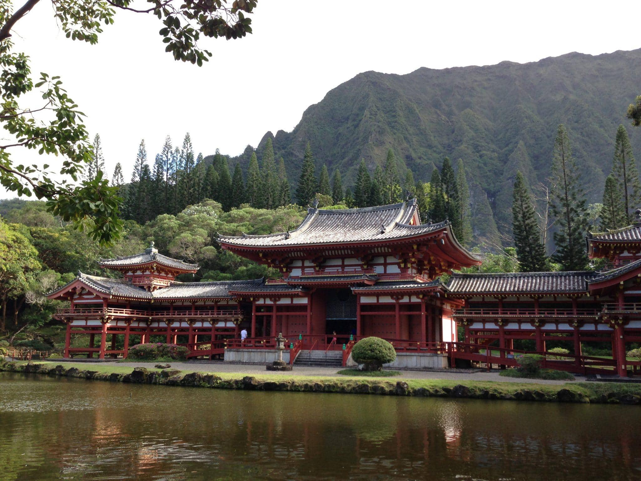 The peaceful and stunning Byodo-In Temple