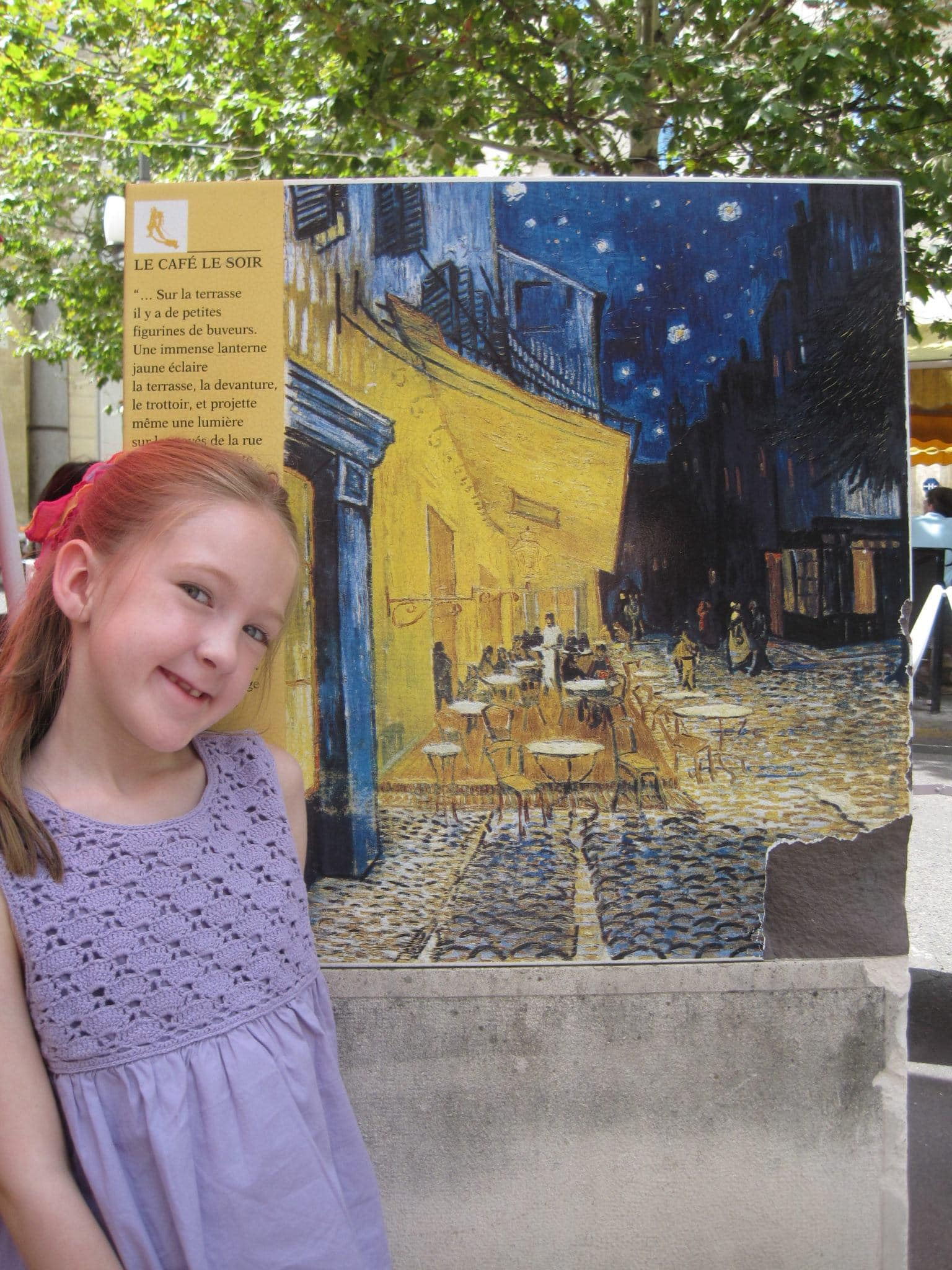 Learning about Van Gogh in Arles
