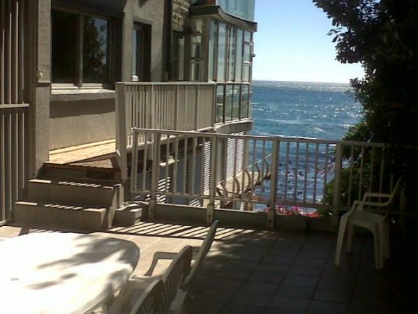 View from Wantizen rental home - Bantry Bay, South Africa