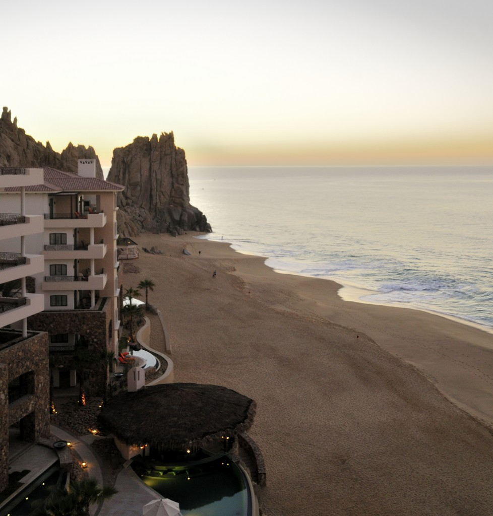 Balcony view from Grand Solmar Land's End Resort & Spa