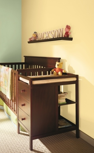 Winnie the Pooh-themed nursery