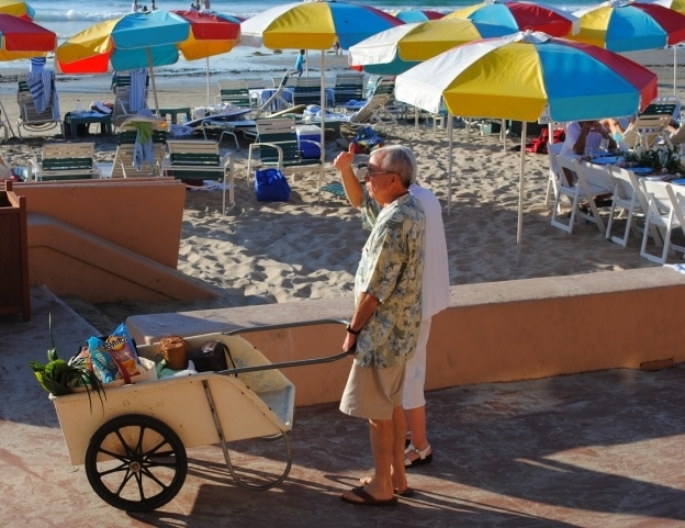 Preparing for the best beach party in town at the La Jolla Beach & Tennis Club