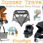 Win baby travel gear at the Right Start Summer Travel Twitter Party