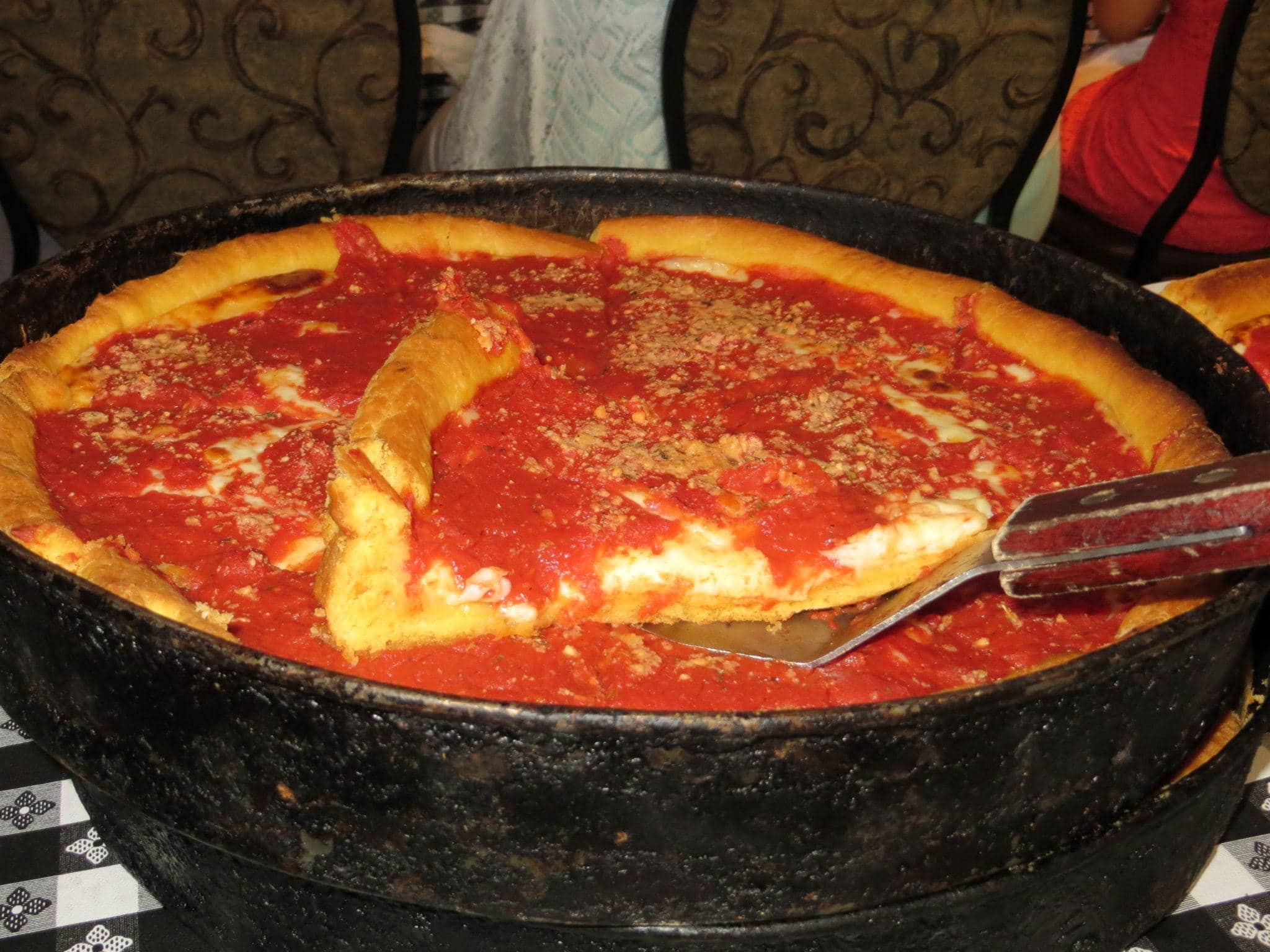 Chicago Style Deep Dish Pizza was worth the wait