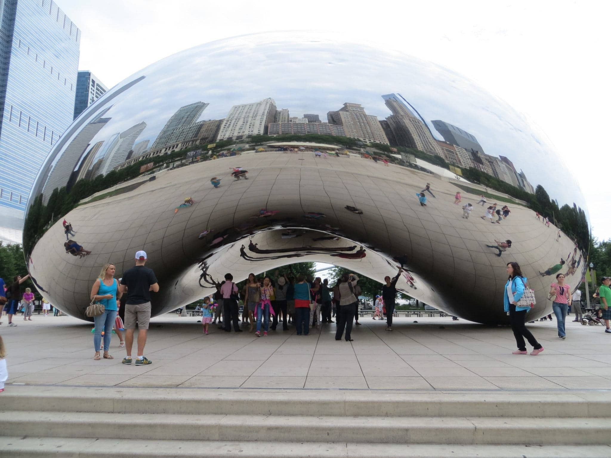 Cloud Gate (a.k.a. The Bean) in Millennium Park