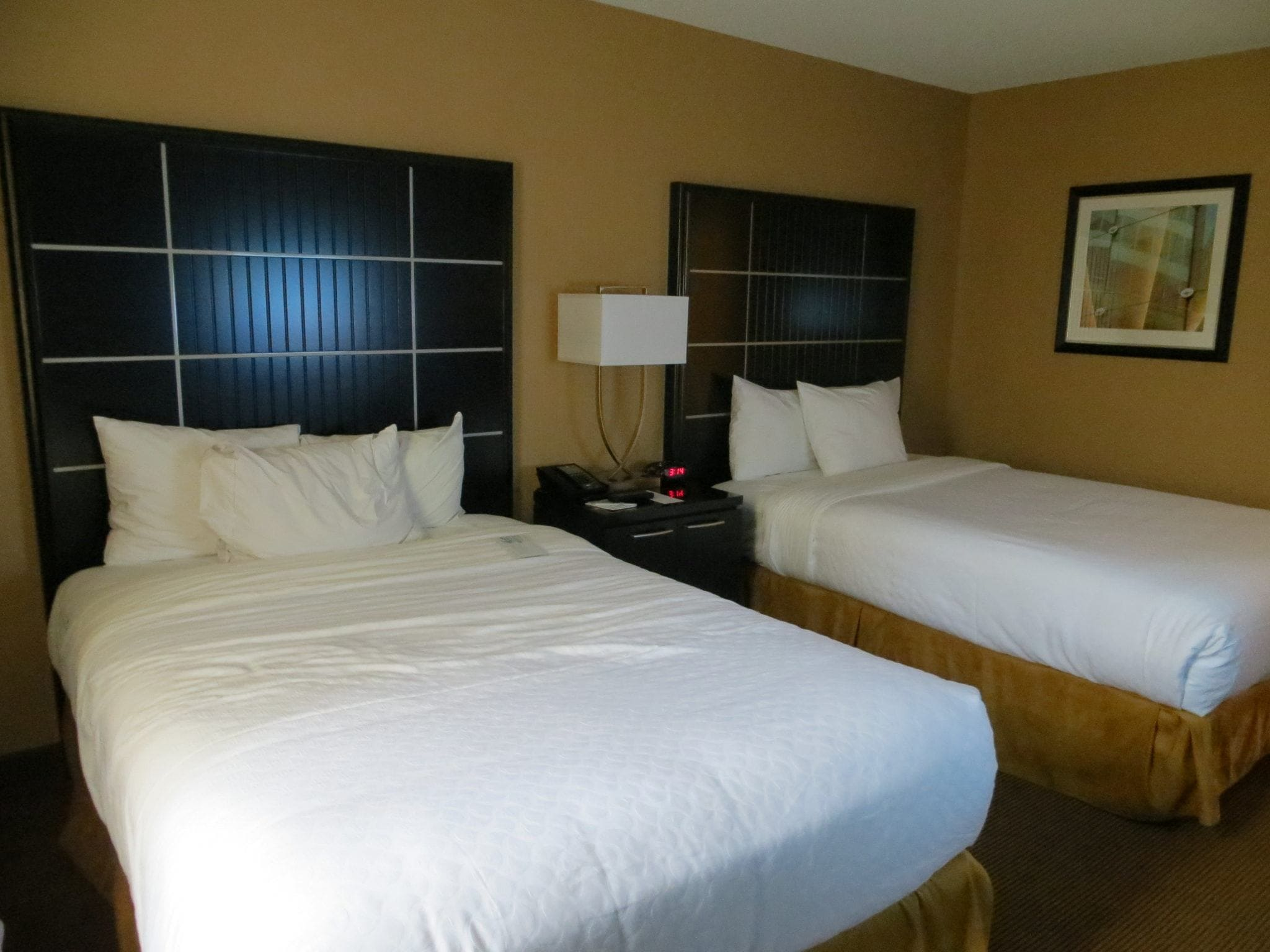 Double Bed Room At Embassy Suites Chicago Downtown