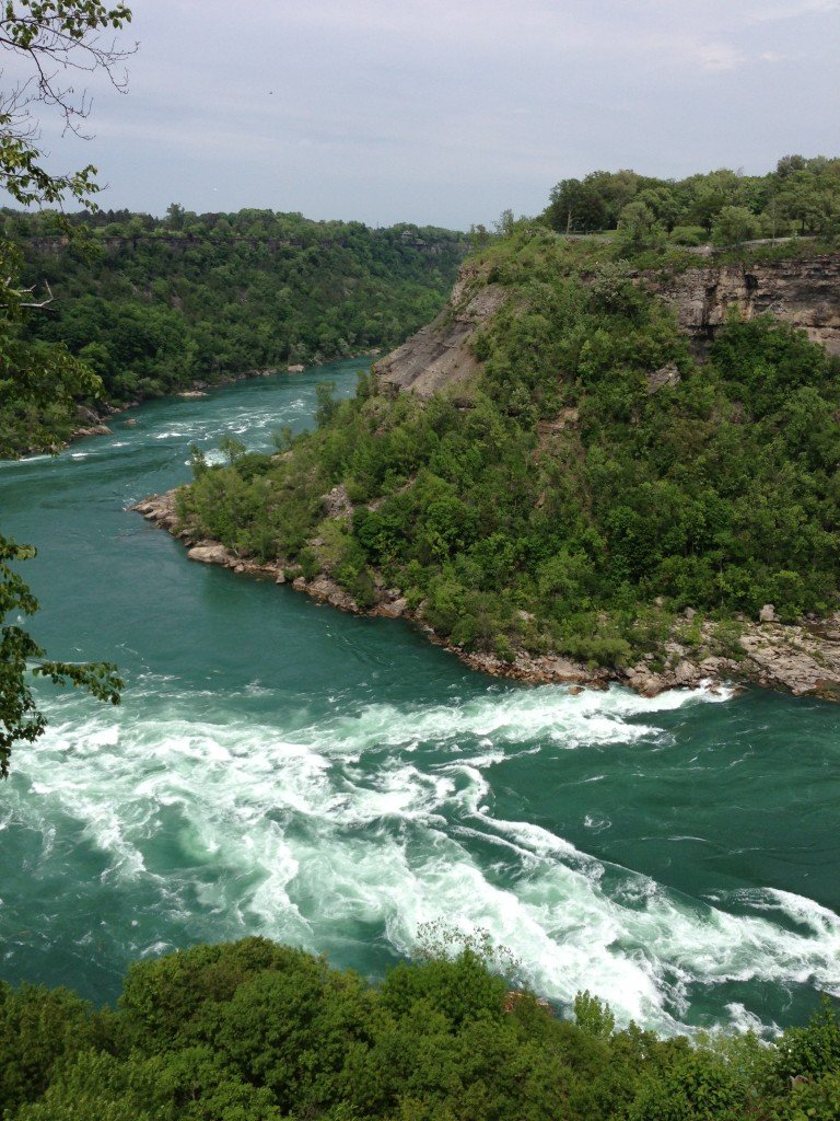 The Great Gorge near Niagara Falls