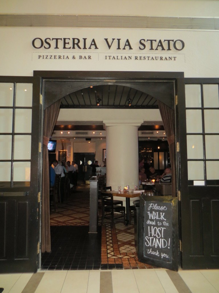 Osteria Via Stato at Embassy Suites Chicago Downtown