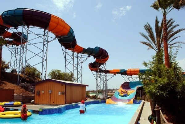Walhalla Wave waterslide at Aquatica San Diego