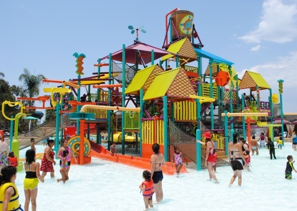 Walkabout Waters play area for bigger kids at Aquatica San Diego
