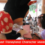 Which Disneyland Character Meal Is Best for Your Family?