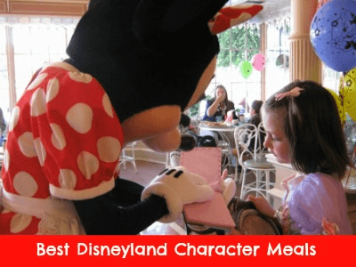 Best Disneyland Character Meals