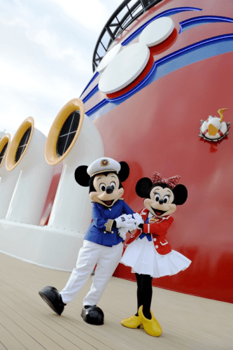 Mickey Mouse and Minnie Mouse are by far your favorite Disney characters