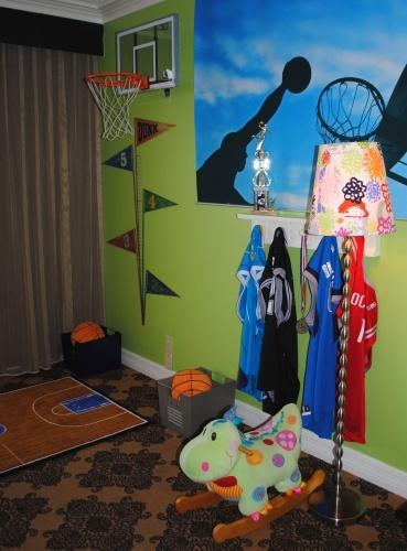 Omni Houston Hotel's Kids Suite