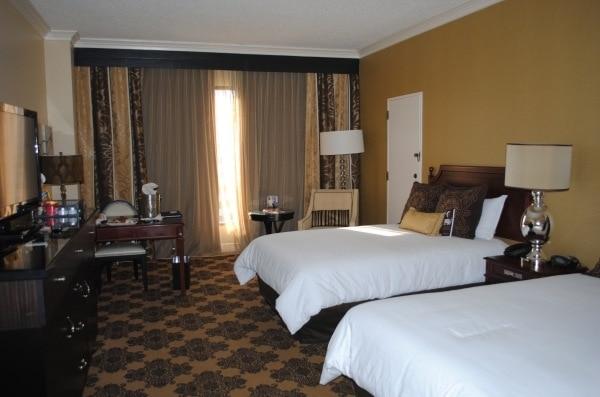 Omni Houston Hotel room