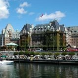 Victoria's famous Fairmont Empress Hotel