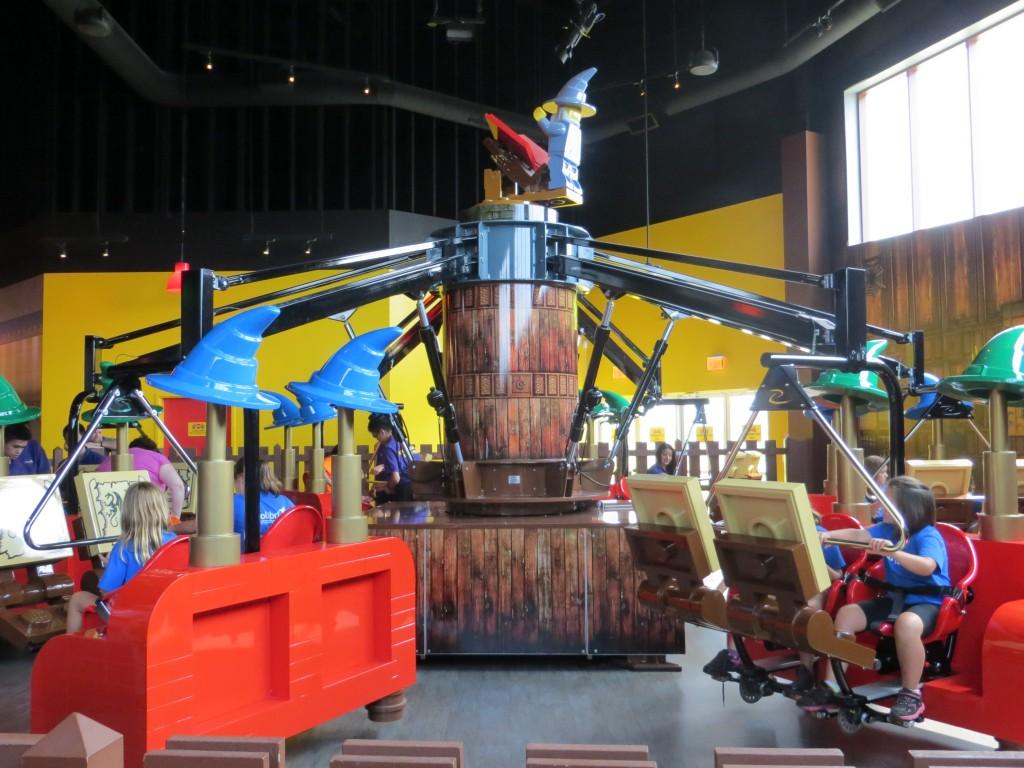 Merlin's Apprentice Ride LEGOLAND Discovery Centre Toronto
