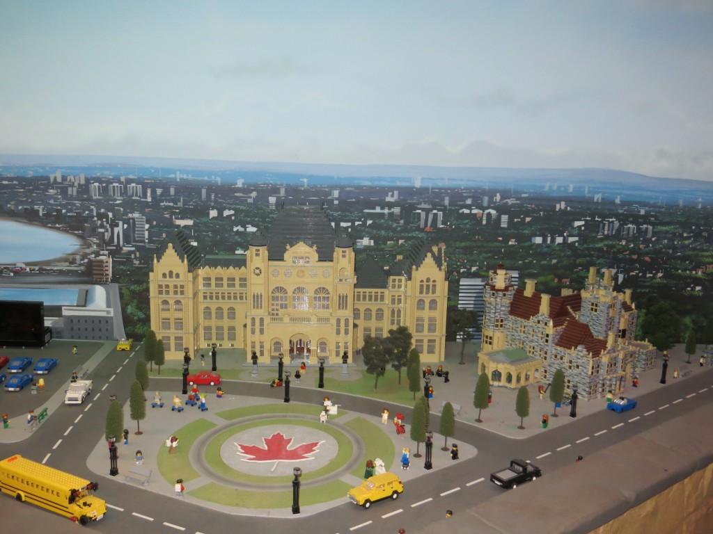 Queen's Park and Casa Loma Miniland LEGOLAND Discovery Centre Toronto