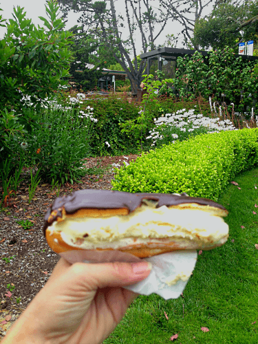 Eclair from Cafe Carmel Coffee House