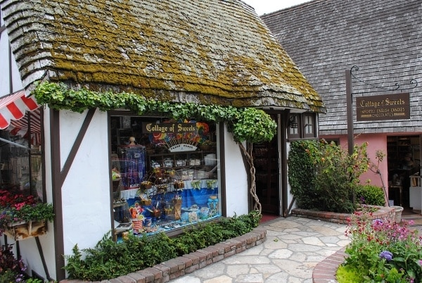 Cottage of Sweets candy and chocolates shop in Carmel-by-the-Sea