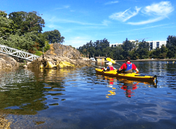 Kayaking with Ocean River Sports