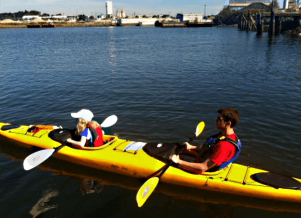 Kayaking with kids in Victoria is a fun way to explore this waterfront city
