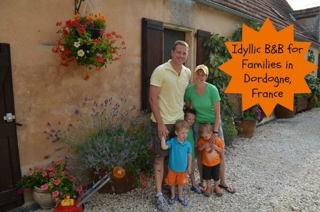 Le Chevrefeuille - An idyllic bed and breakfast for families in Dordogne, France