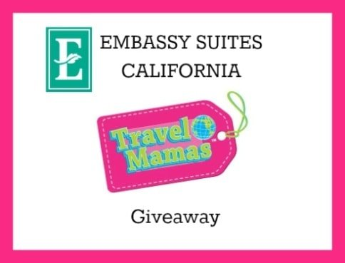 Embassy Suites California Travel Mamas Giveaway