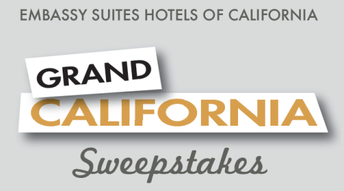 Embassy Suites Hotels of California Grand California Sweepstakes