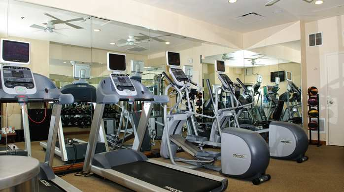 Hilton Garden Inn Washington DC Downtown's fitness center