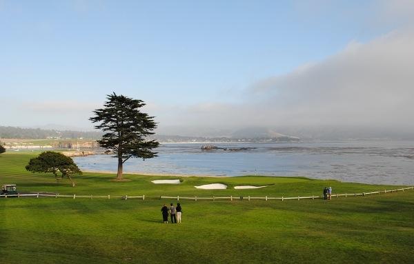 View at Pebble Beach Golf Club