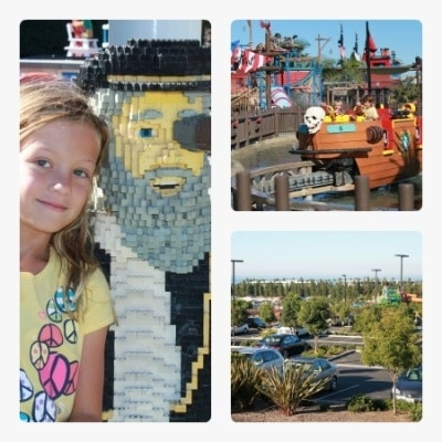 Kids ages 2-12 have a blast at Legoland California