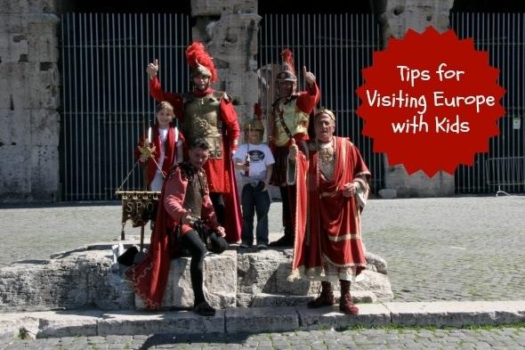 tips traveling kids europe