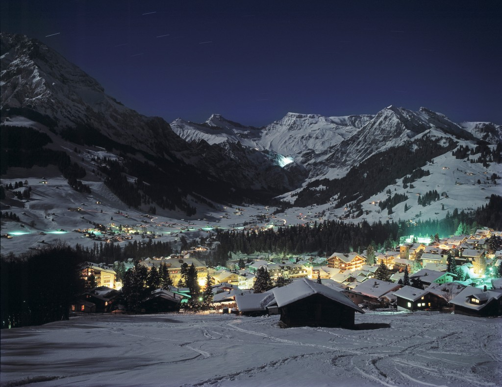 Adelboden at Night (Credit: PHOTOPRESS/Adelboden)